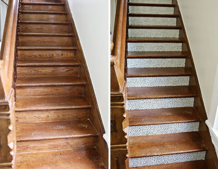 132 best images about basically basics on pinterest - How to wallpaper stairs and landing ...