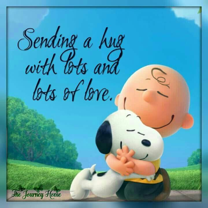 Sending a hug with lots and lots of love. – wendy ranger