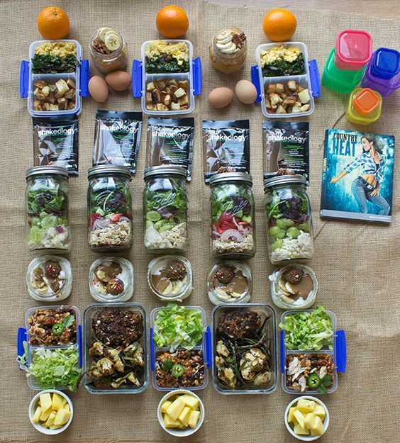 Country Heat Meal Prep for the 2,100–2,300 Calorie Level - Whole Week