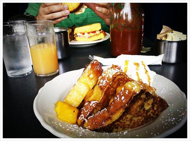 Good morning!!! at Morning Glory Diner in Philadelphia, PA. by lauriebreaker, via Flickr