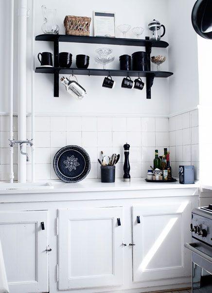 #black white home