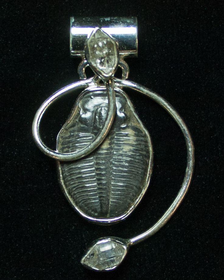 Trilobites 266 pinterest sterling silver elrathia trilobite pendant mozeypictures Image collections