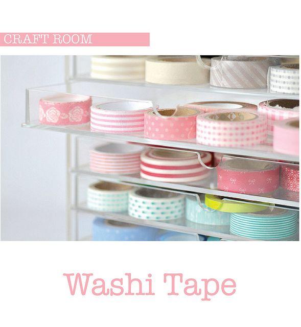 Pretty Organized - washi tape