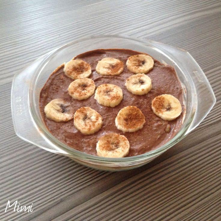 Mimi's Fitness Blog - Szűcs Noémi személyi edző honlapja • személyi edzés, edzésterv, étrend: Kakaós-banános túrópuding kölespehellyel