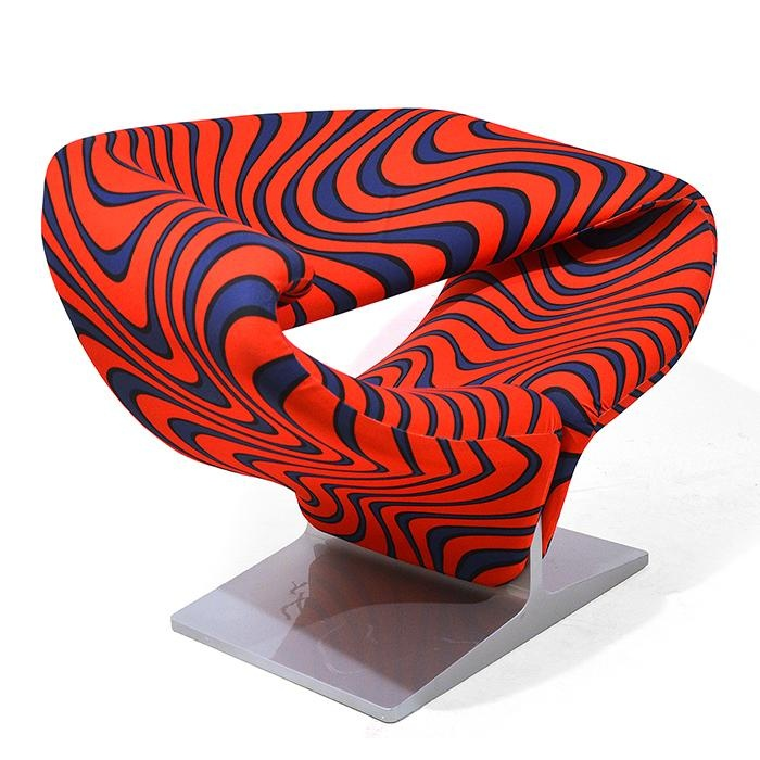 AreaNeo | Pierre Paulin Ribbon Chair For Artifort 1966