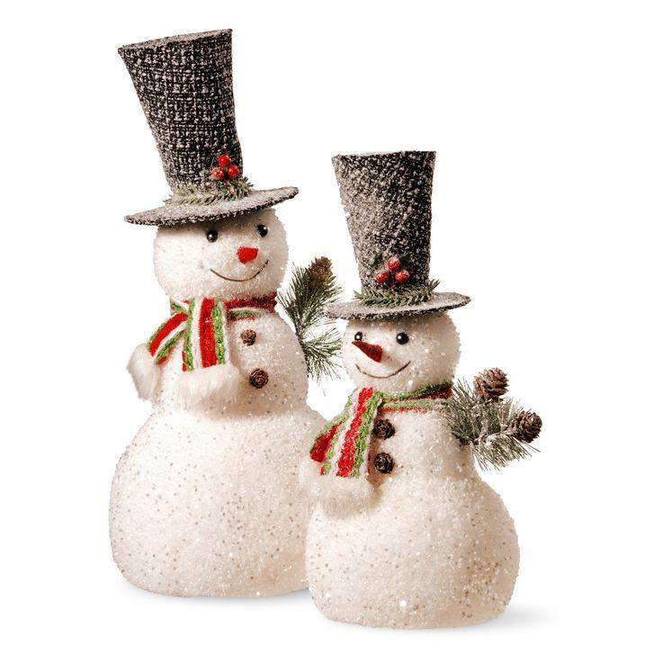 National Tree Company Snowman - Set of 2 | from hayneedle.com