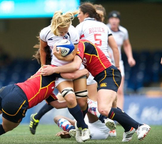 I know her! I knowwww her! :) Women's Hong Kong Rugby. Look who it is! PSUWRFC <3