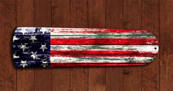 Rustic Barn USA American Flag Ceiling Fan BLADES living room decor Man Cave A in Home & Garden, Lamps, Lighting & Ceiling Fans, Lighting Parts & Accessories | eBay
