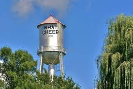 What Cheer Flea Market in Iowa is the largest in the Midwest and held several times a year. Next one is August 4-5