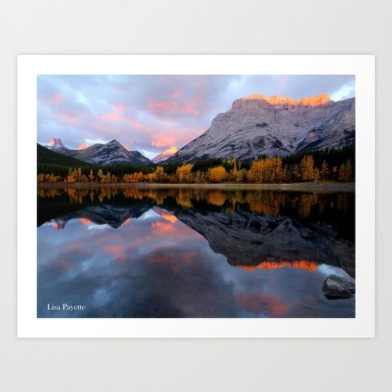 Early light in Kananaskis Country<br/> Sunrise in the Canadian Rockies