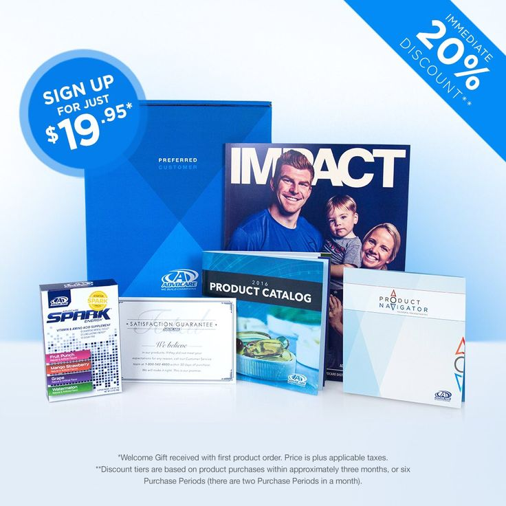 Preferred Customer option is for those who are not interested in the business opportunity yet enjoy the power of AdvoCare products at a discount. There is no minimum purchase required for Preferred Customers PREFERRED CUSTOMER DISCOUNT LEVEL SCHEDULE Total Product purchases within 6 consecutive Purchase Periods (approximately 3 months) Discount $0 - $499.99 20% $500 - $999.99 25% $1,000 + 30% The annual renewal fee for Preferred Customers is just $19.95.