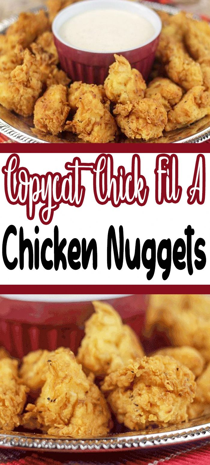 air fryer recipes healthy in 2020 Chicken nugget recipes