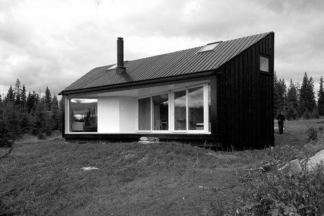 Cabin Nordmarka. Architects: Jarmund/Vigsnæs Arkitekter AS.