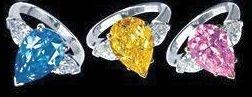 Цветные алмазы и бриллианты Color diamond Ultimate gems Природные Фантазийные бриллианты