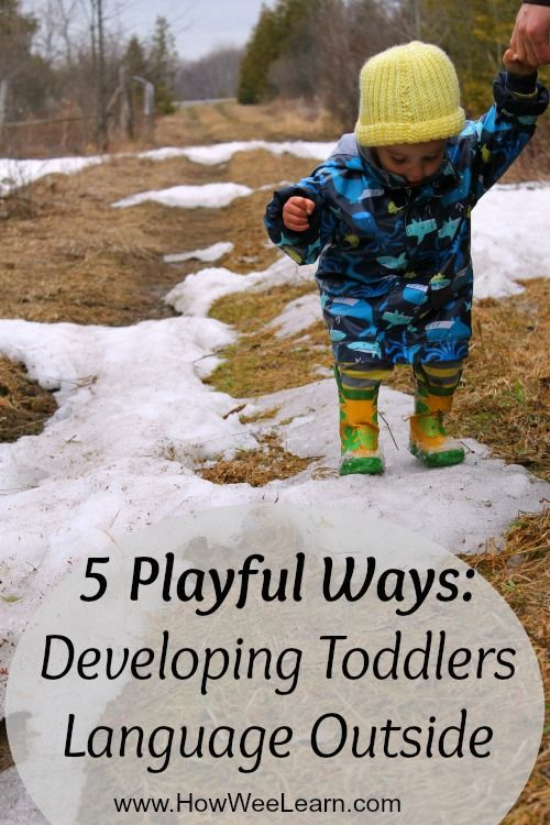 This post is all about setting up an incredible learning environment for toddlers.  No special supplies needed, it's simply a method for how to speak to little ones.  Very powerful and amazingly easy!  5 Playful ways to develop language in toddlers.
