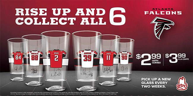 Image result for colts collectible glasses arbys