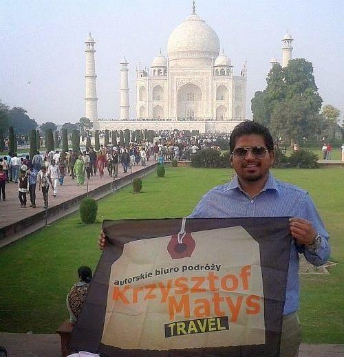 Wycieczki do Azji. Tadź Mahal, Agra, Indie.