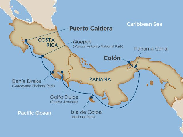 Luxury Cruise Costa Rica and Panama Canal Dec 12, 2015