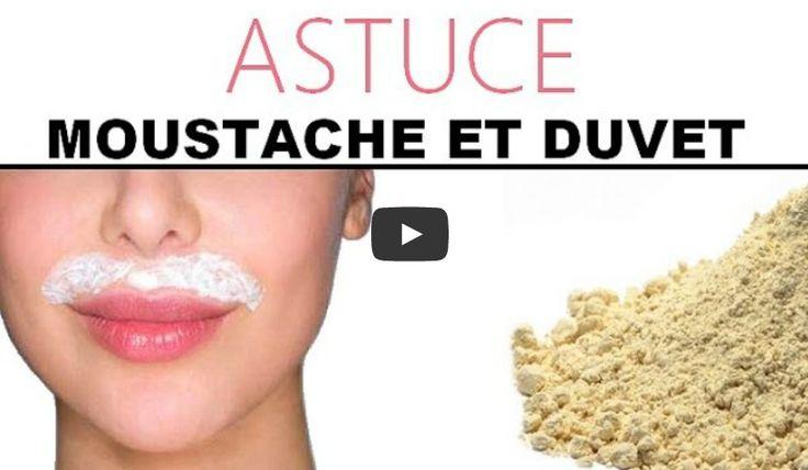 Epilation définitive de la moustache et du duvet avec de la Farine !