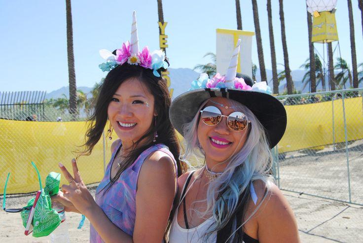 Coachella Weekend 1, 2016 #Coachellafashion #coachella #festivalfashion #unicorn