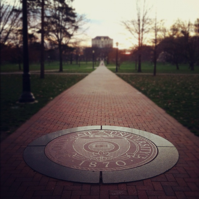 The Ohio State University #theoval #college #ohiostate