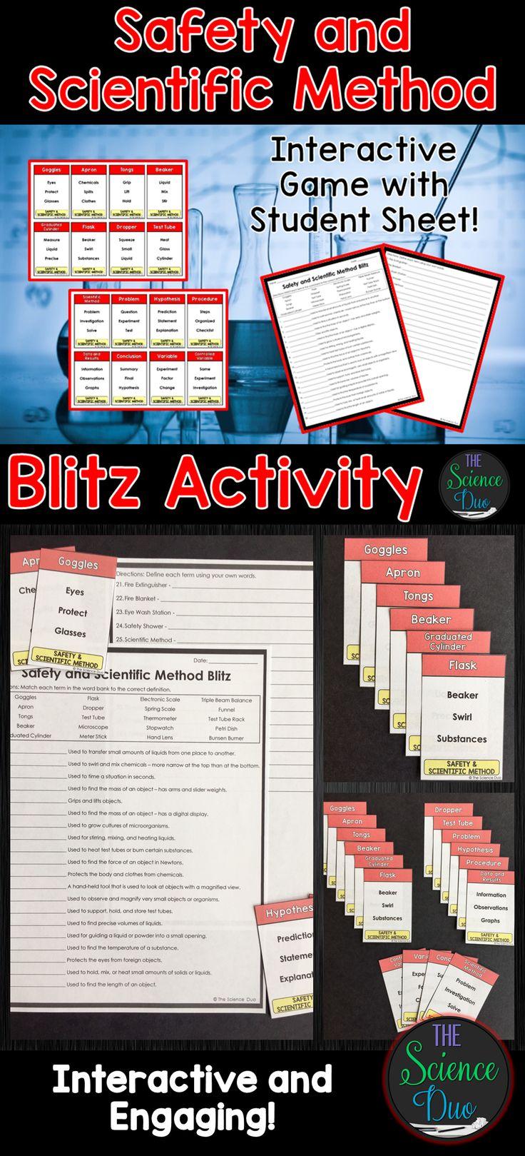 BIO 220 Week 1 Assignment: Scientific Method Matching Exercise