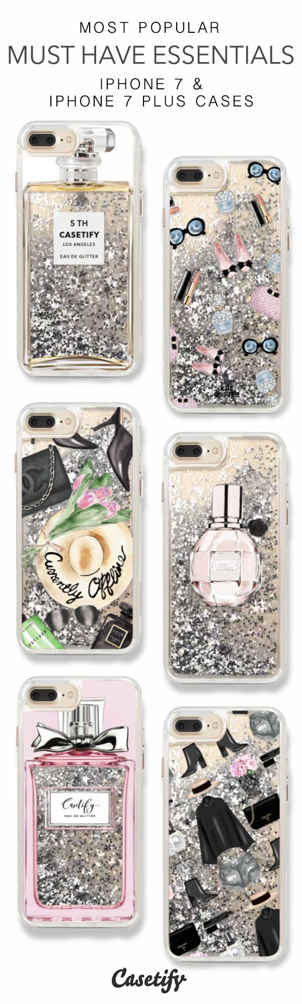 Most Popular Must Have Essentials iPhone 7 Cases & iPhone 7 Plus Cases here >  https://www.casetify.com/en_US/collections/iphone-7-glitter-cases#/