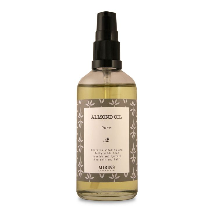 Pure Almond Oil Hydrating and nourishing. Apply after shower or bath
