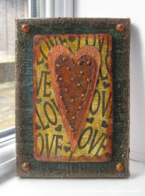 Addicted to Art: Rusty Love Heart