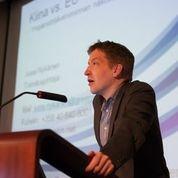 Jussi Nykänen, GreenStream, kertoi mm. Kiinan ympäristötoimista.