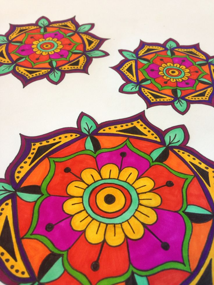 More mandalas