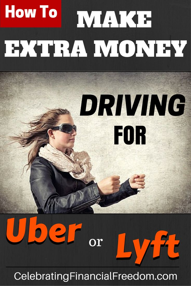 If you want to make some extra money, this is an easy way to do it.  You can make money driving people around using the ridesharing apps Uber or Lyft.  Click the Pic to find out how it works and how much you can make.  #Lyft #uber #howto #makemoney #money #finance  http://www.cfinancialfreedom.com/money-making-idea-ride-share-lyft-uber