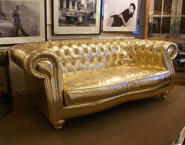 Gold Chesterfield Sofa : 11 best sofas couches images on pinterest canapes sofa and couches ~ Frokenaadalensverden.com Haus und Dekorationen