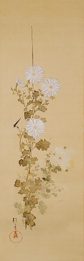 Chrysanthemums (early 19th century) Artist/s name Sakai Hoitsu 酒井抱一