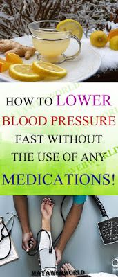 How To Lower Blood Pressure Fast Without The Use Of Any Medications!