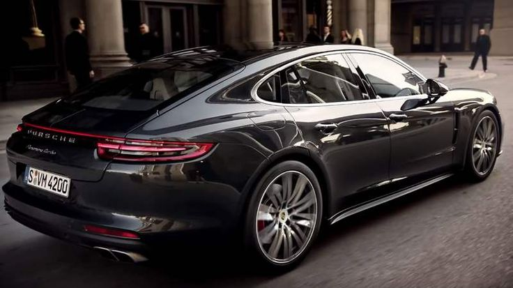 The 2017 Porsche Panamera Turbo, a genuine sports car with the comfort of a luxury sedan   The new Panamera Turbo and Panamera 4S in motion See the first driving
