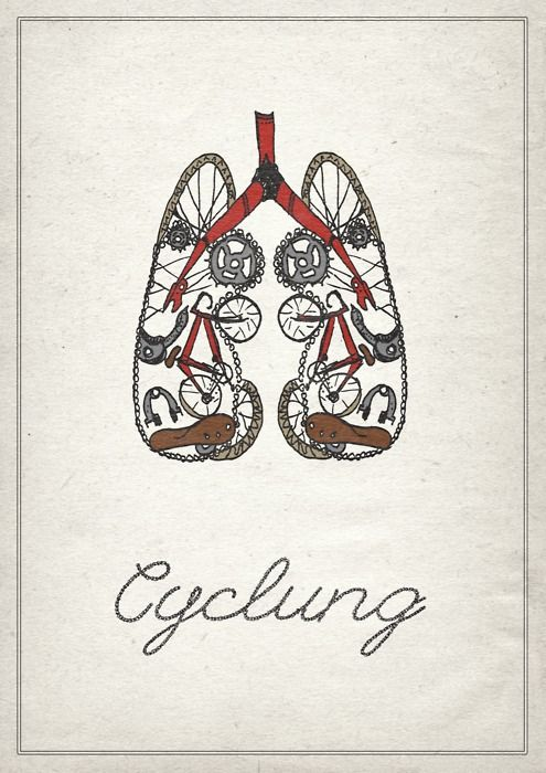Cyclung - looking inward  Designingontea, Designer and Cycling enthusiast with Cystic Fibrosis