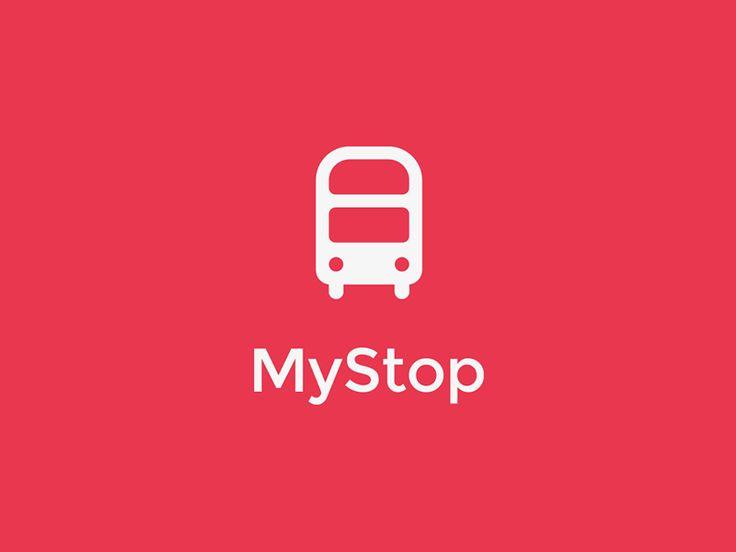 MyStop Logo by Mark Fuller
