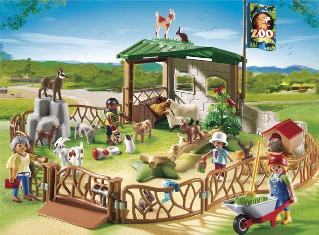 Afbeelding van Playmobil City Life 6635 Grote kinderboerderij from DreamLand