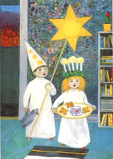 Lucia and the star boy.