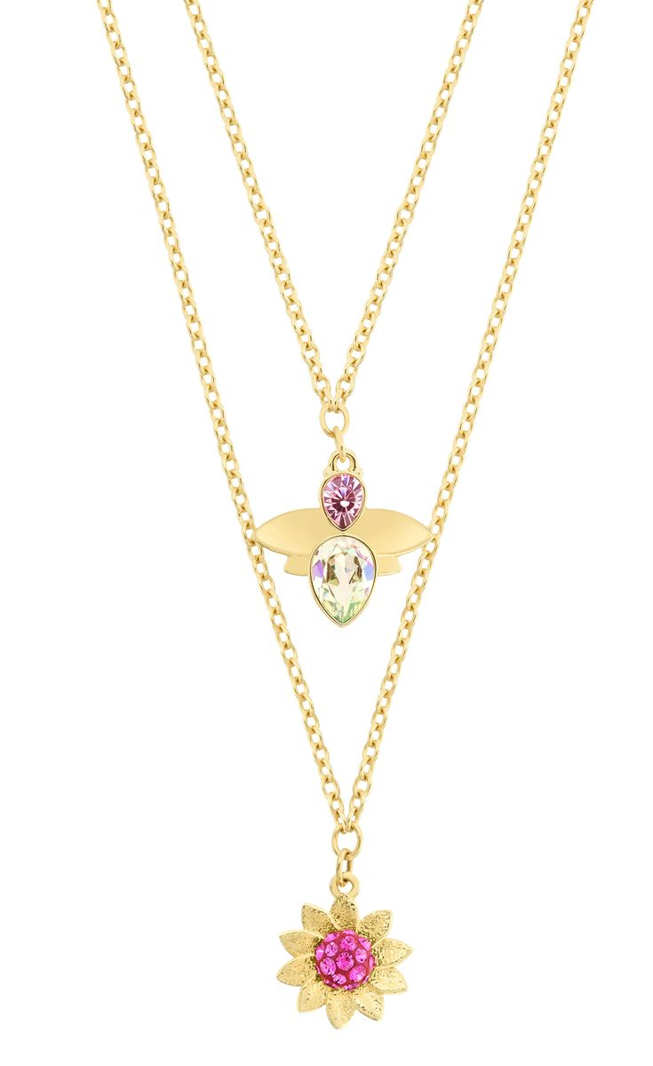 Beautiful flower necklace form #Swarovski. Available at #DesignerOutetParndorf