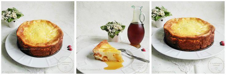 Gâteau léger aux pommes et fromage blanc : recette facile, légère, gourmande et économique