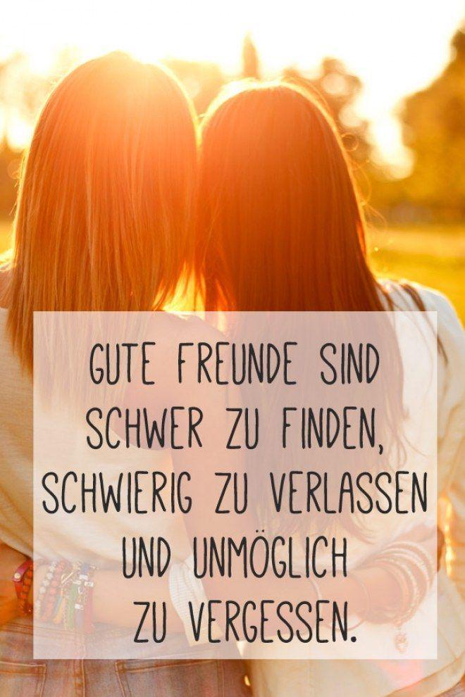 Ehrlich und mit viel Herz: Die schönsten Freundschaftssprüche – #die #Ehrlic…