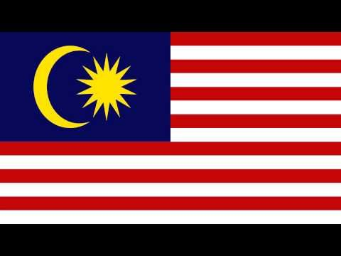 Bandera e Himno Nacional de Malasia - Flag and National Anthem of Malaysia - YouTube