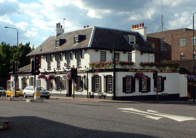 The Swan Pub, West Wickham, Kent.