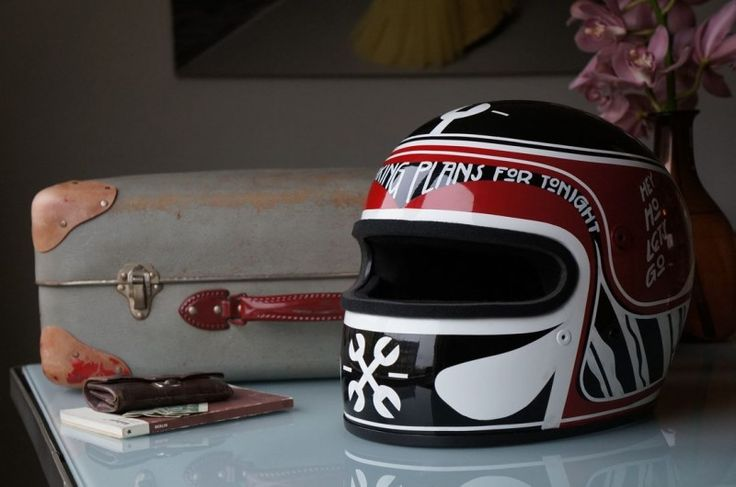 21 Helmets is a yearly exhibition of custom helmet art, curated by Thor Drake of See Motorcycles in Portland, OR.