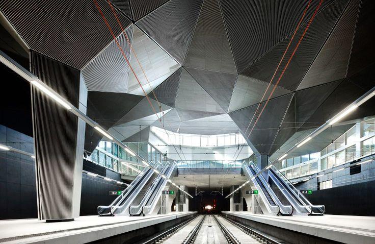 Adif Railway Station︱Abalos+Sentkiewicz. 西班牙 Logroño 的高鐵站。