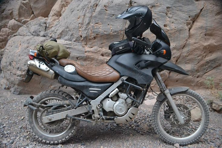 """""""another one from @brivison epic travels #bmw #dakar #f650gs #customupholstery…"""