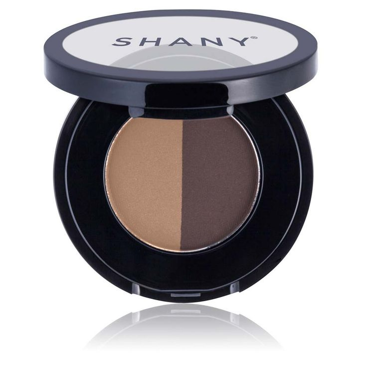 SHANY Brow Duo Makeup Kit, Paraben Free, Brunette, 1 Ounce. Long-lasting formula, hypoallergenic, perfectly paired and blendable colors. SHANY eyebrow makeup set is perfect for everyday makeup, used with makeup brush. Two perfectly paired eye brow powders in one convenient and compact package. Smudge-proof eye-brow cake is resistant to humidity and can be used as eye shadow. Designed and manufactured in USA - not tested on animals - proud member of PETA.