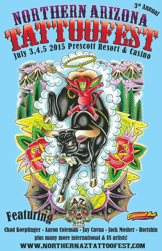 Northern Arizona Tattoo Fest 01 - 03 Juillet 2016